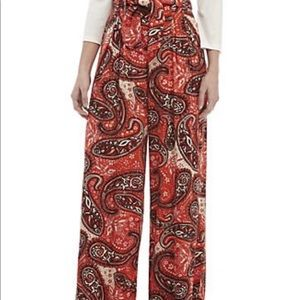 Free People Double Trouble Paisley Pants NWT